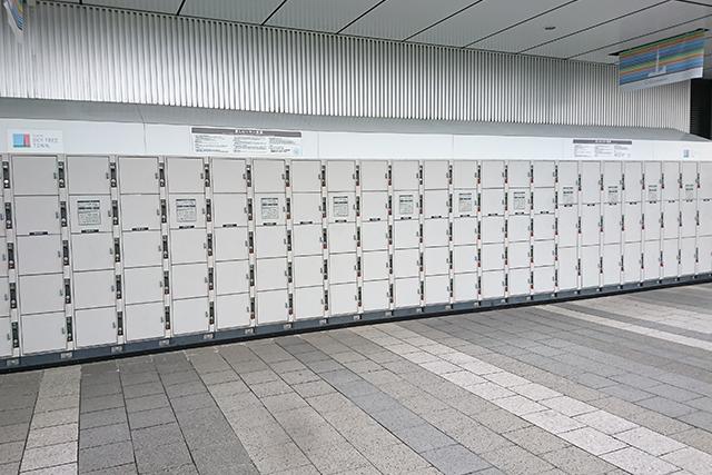 ソラマチのロッカーの場所は?荷物預かりや配送サービスの情報も!