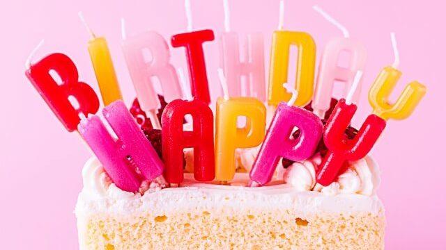 誕生日の当日に会えないときでもお祝いを!ひと工夫で楽しい日を過ごそう